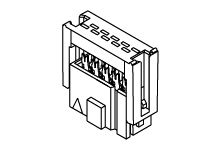 Molex 34-Way IDC Connector Socket for Cable Mount, 2-Row (760)