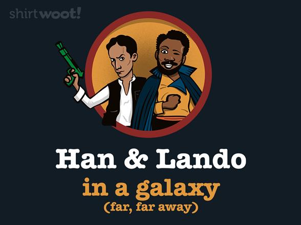 Han & Lando T Shirt