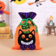 1pc Halloween Drawstring Candy Bag