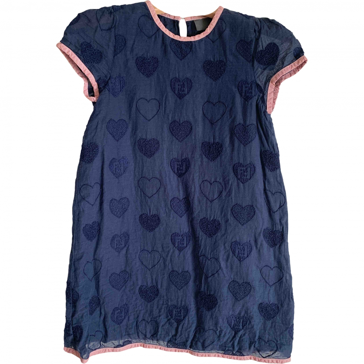 Fendi \N Blue Cotton dress for Kids 4 years - until 40 inches UK