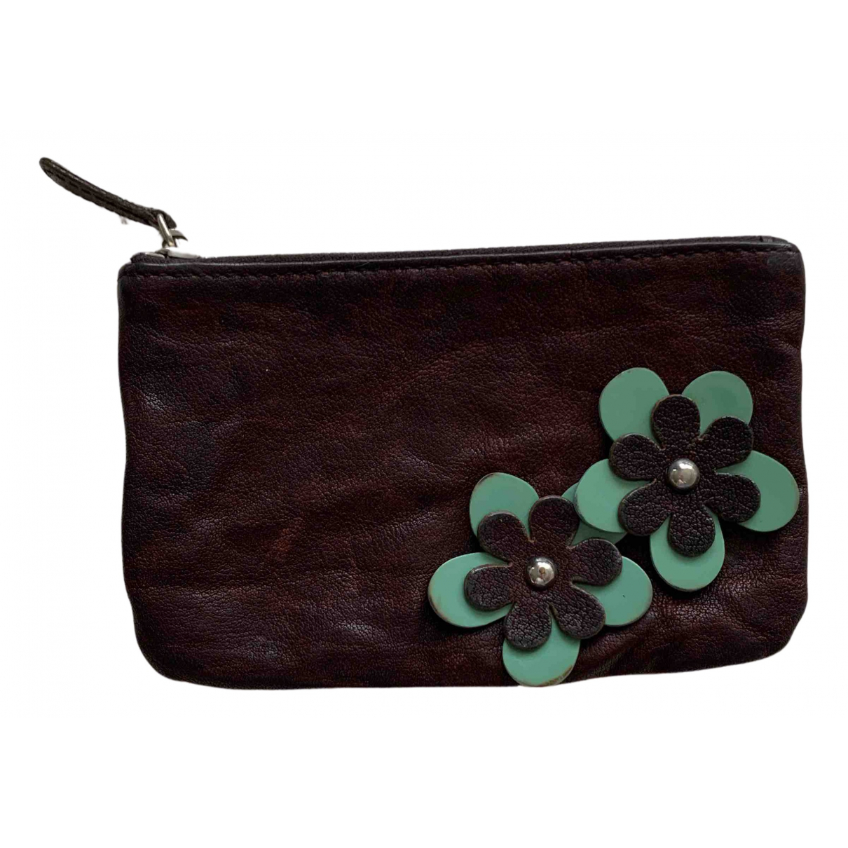Miu Miu N Brown Leather wallet for Women N