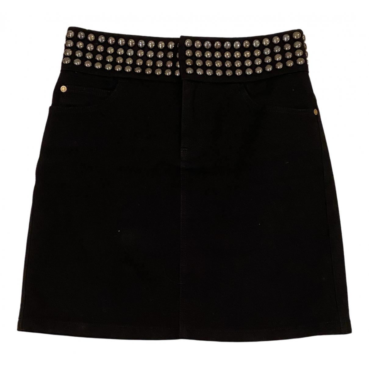 Gucci \N Black Denim - Jeans skirt for Women 38 IT