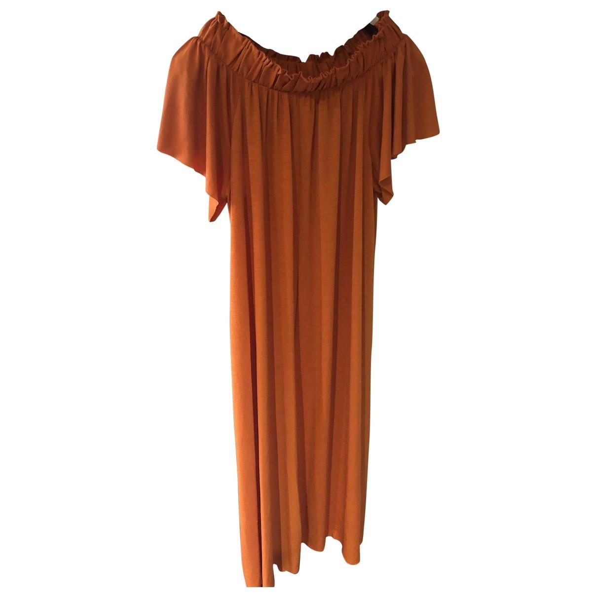 Zara - Robe   pour femme - orange
