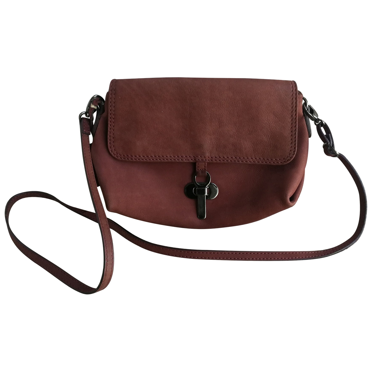 Non Signé / Unsigned \N Pink Leather handbag for Women \N