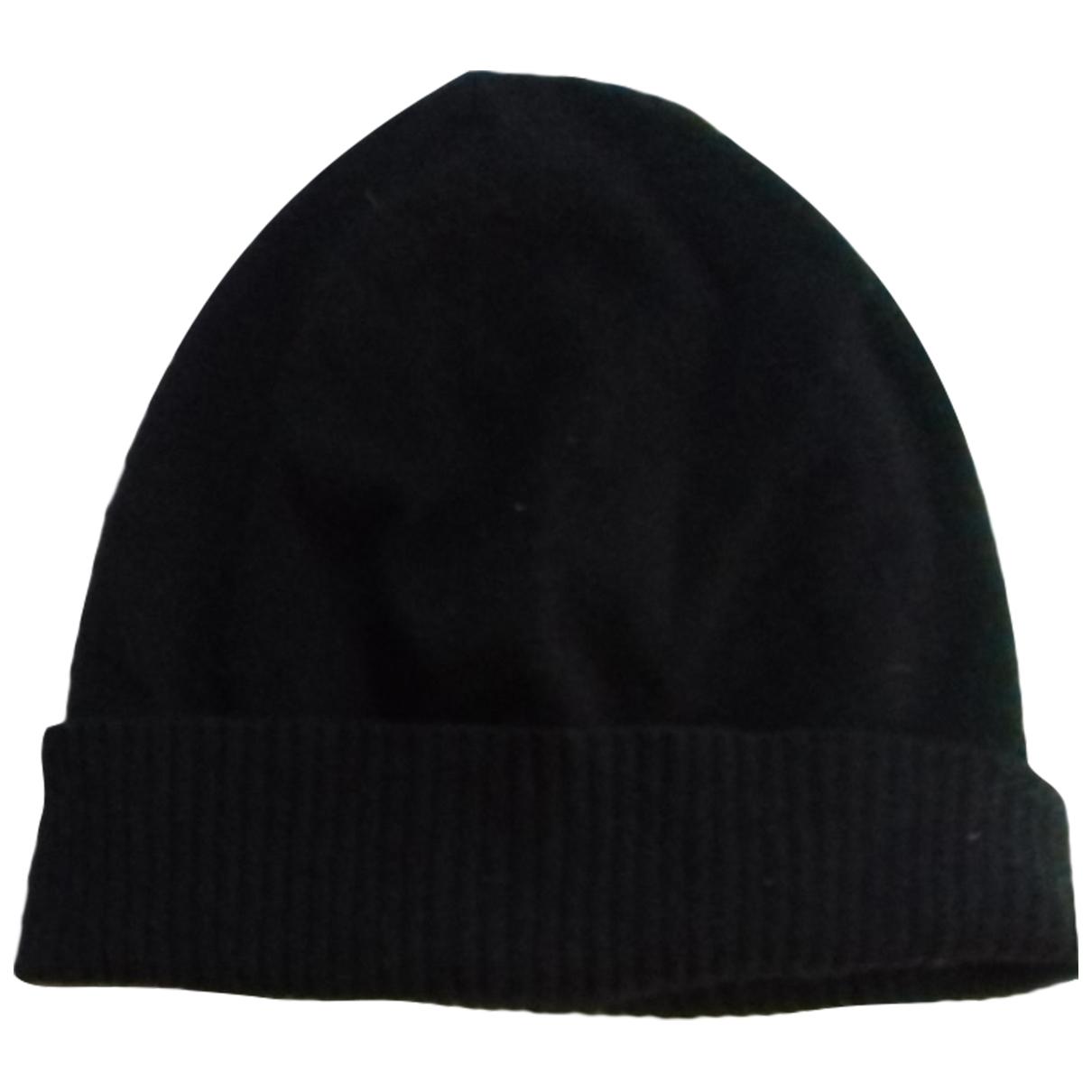 Maison Martin Margiela - Chapeau & Bonnets   pour homme en cachemire - noir