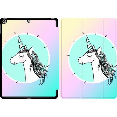 Apple iPad 9.7 (2017) Tablet Smart Case - Happiness Unicorn von caseable Designs