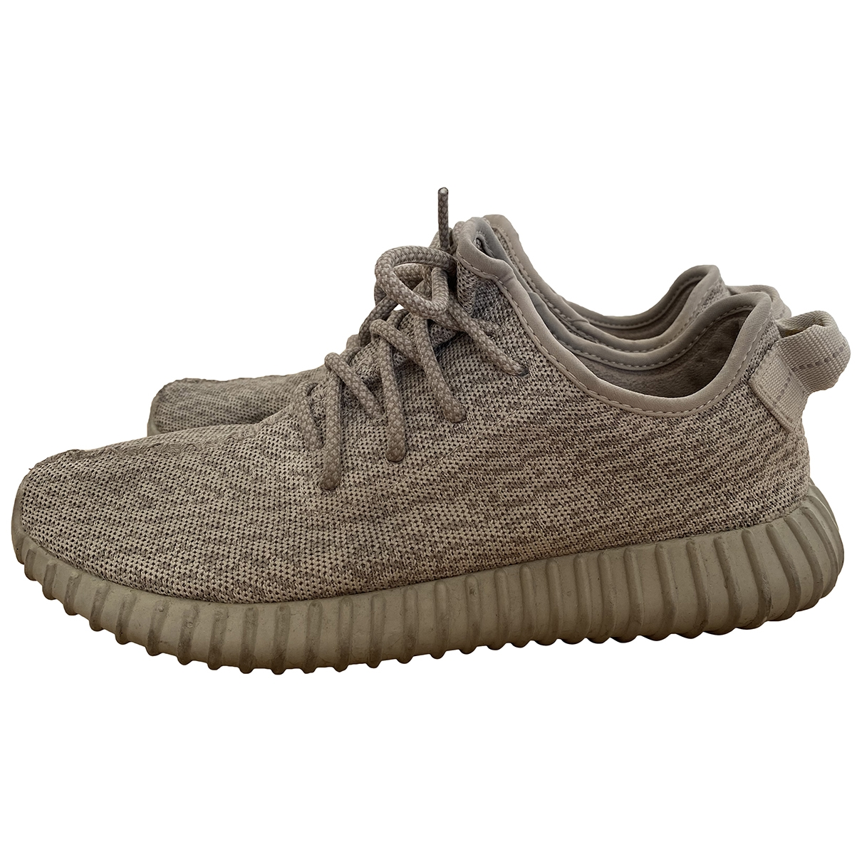 Yeezy X Adidas - Baskets Boost 350 V1 pour homme en toile - gris