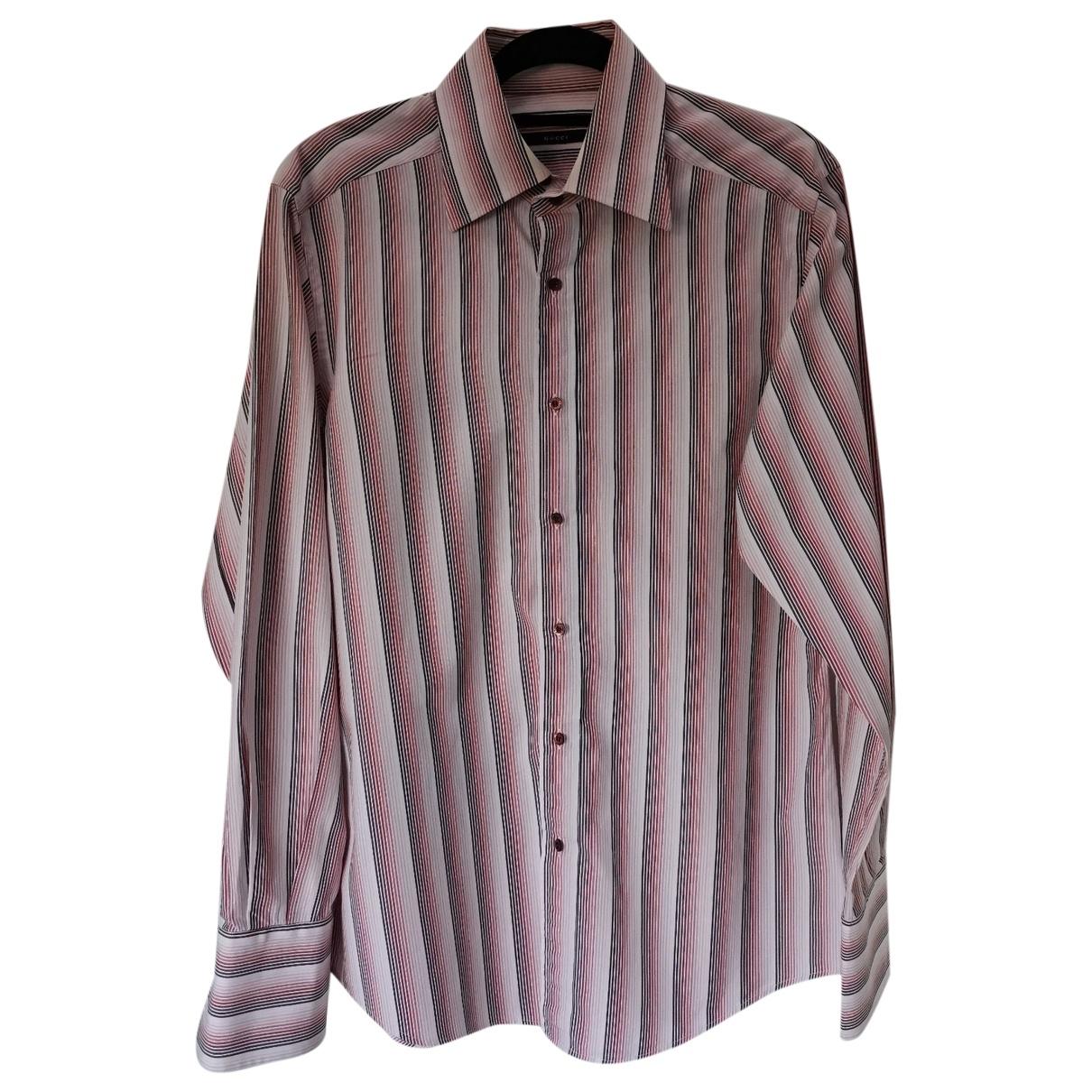 Gucci - Chemises   pour homme en coton - multicolore