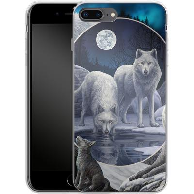 Apple iPhone 7 Plus Silikon Handyhuelle - Wild Wolves von Lisa Parker