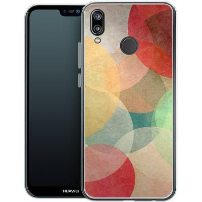 Huawei P20 Lite Silikon Handyhuelle - The Round Ones von Georgiana Teseleanu