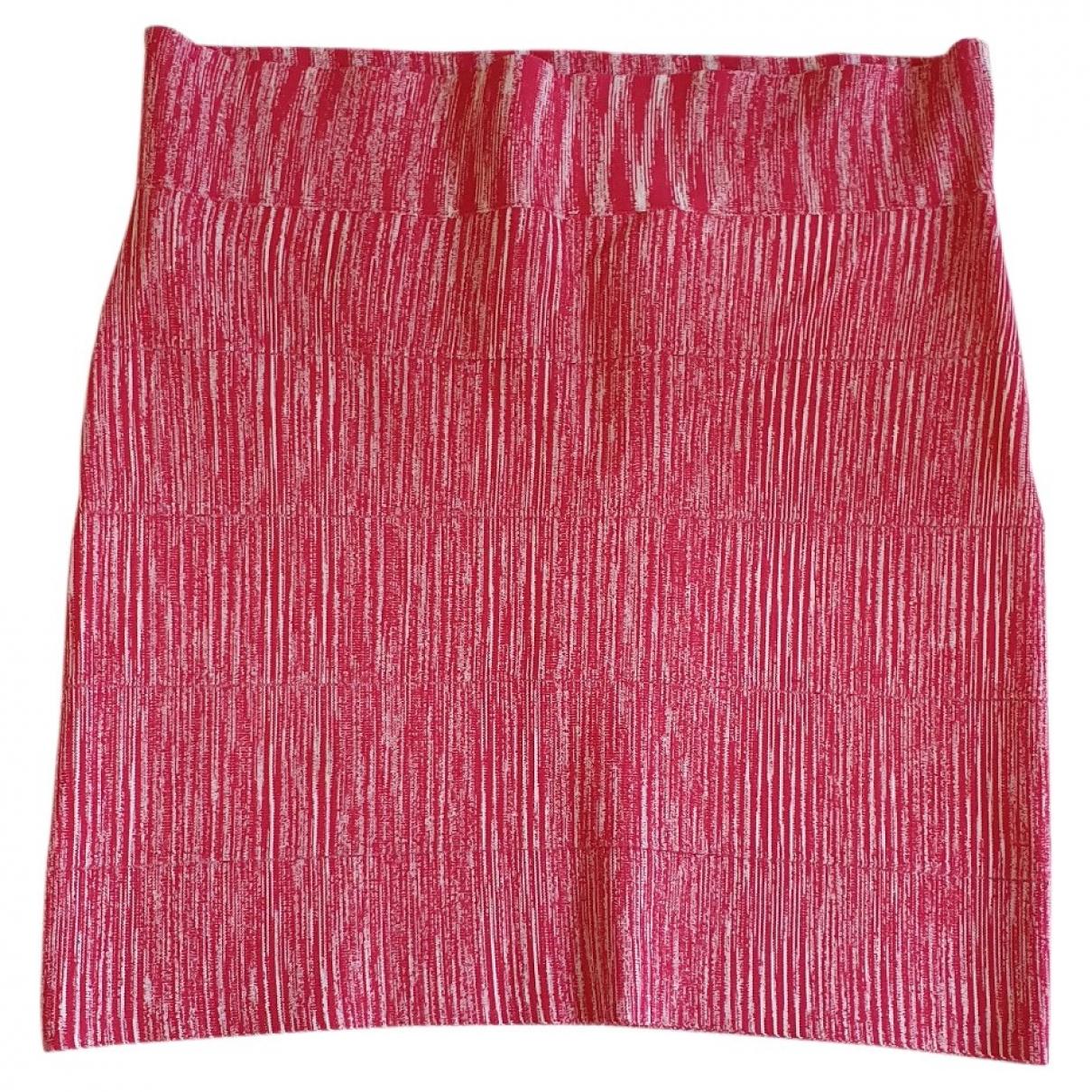 Bcbg Max Azria - Jupe   pour femme - rose