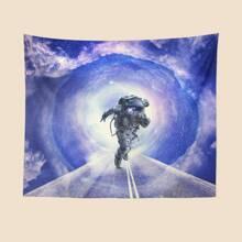 Astronaut Print Tapestry