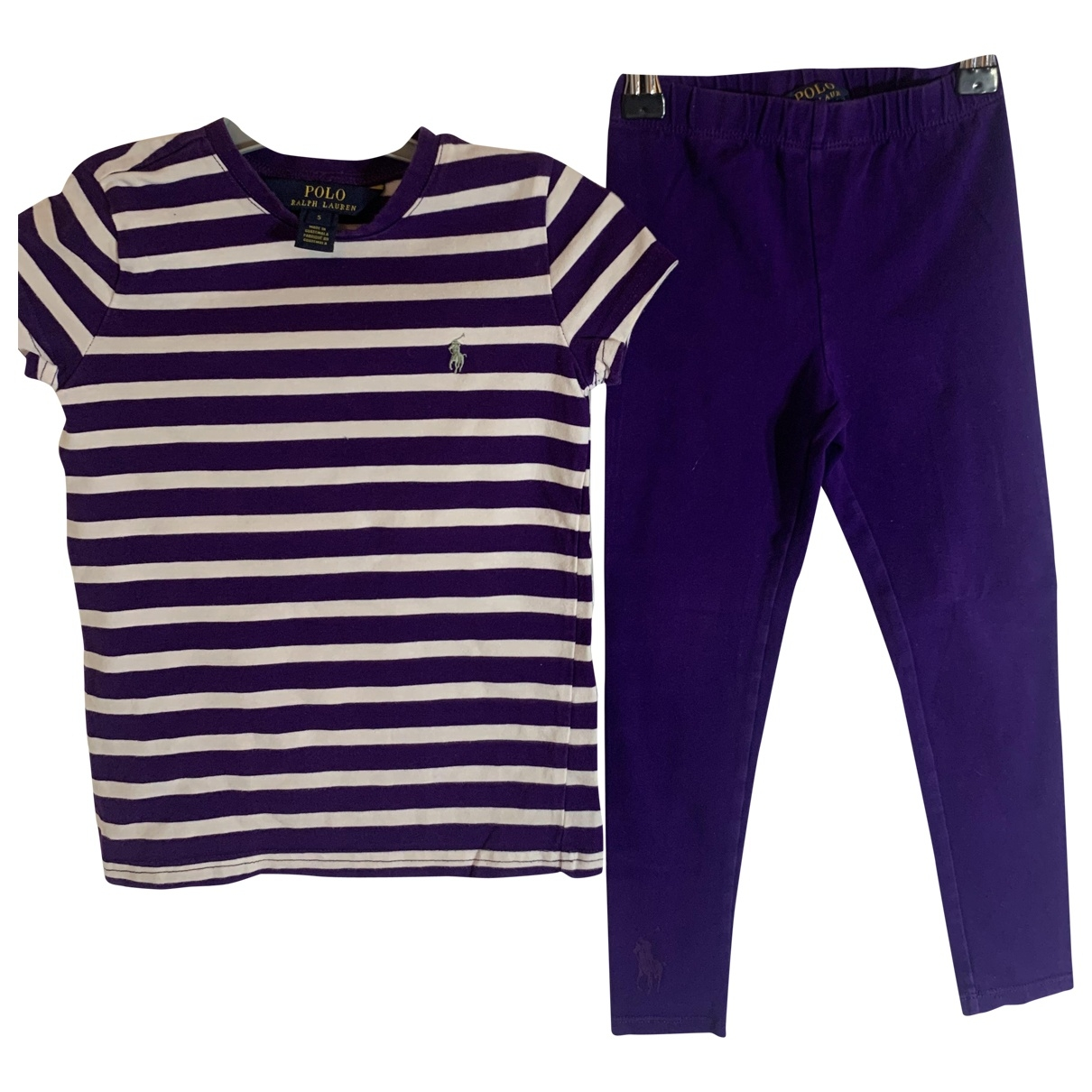 Polo Ralph Lauren \N Purple Cotton Outfits for Kids 5 years - up to 108cm FR