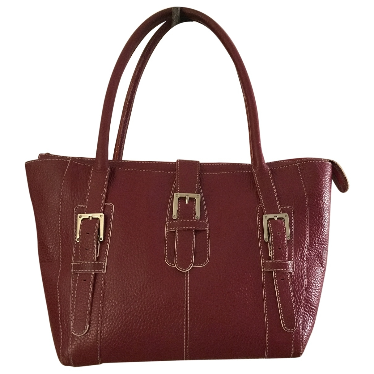 Loewe \N Red Leather handbag for Women \N