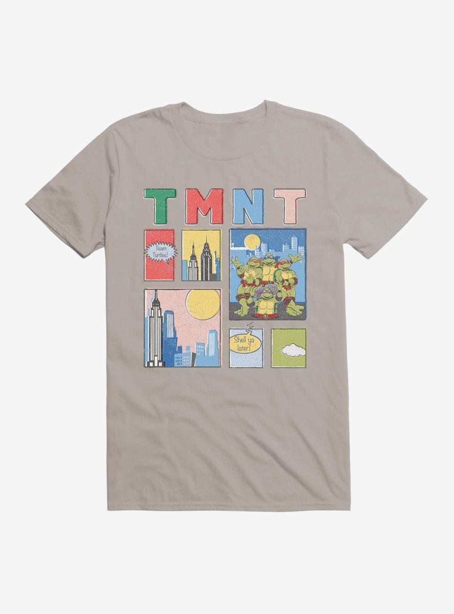 Teenage Mutant Ninja Turtles City Collage T-Shirt
