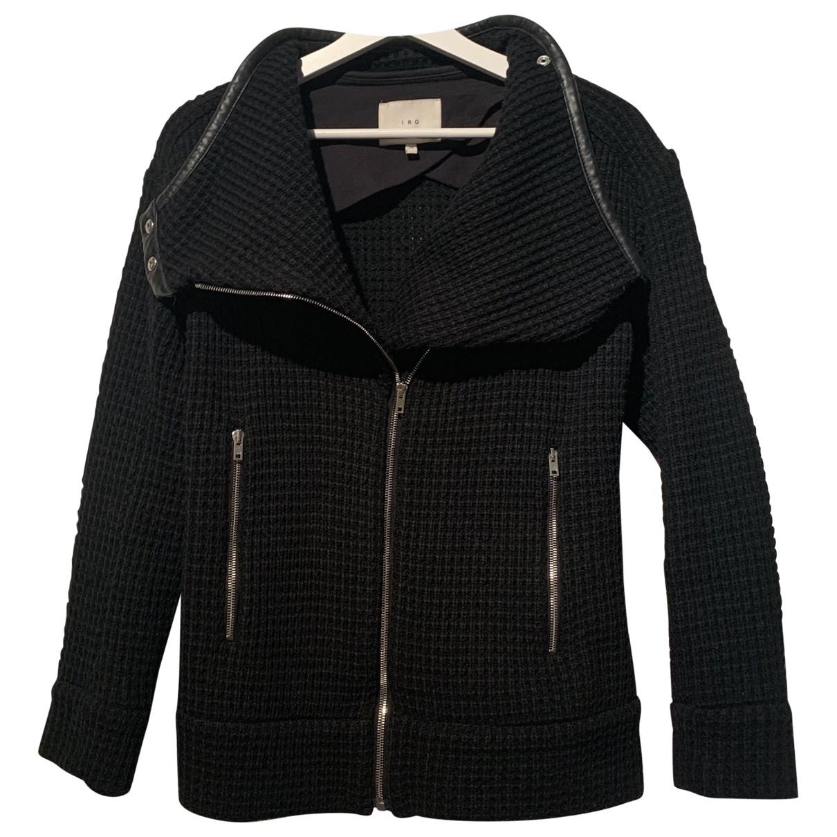 Iro \N Black Wool jacket for Women 38 FR