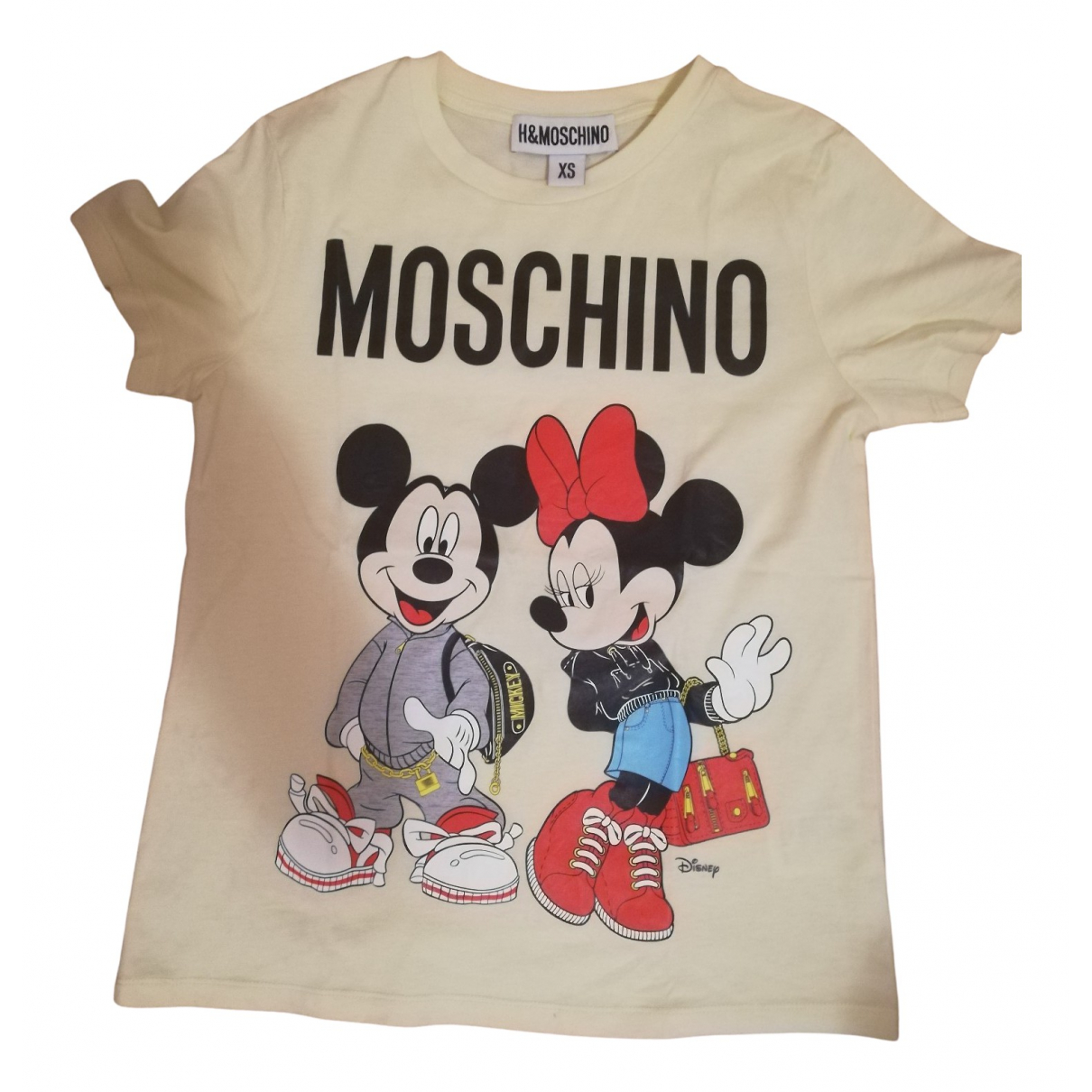 Moschino For H&m \N Beige Cotton  top for Women XS International