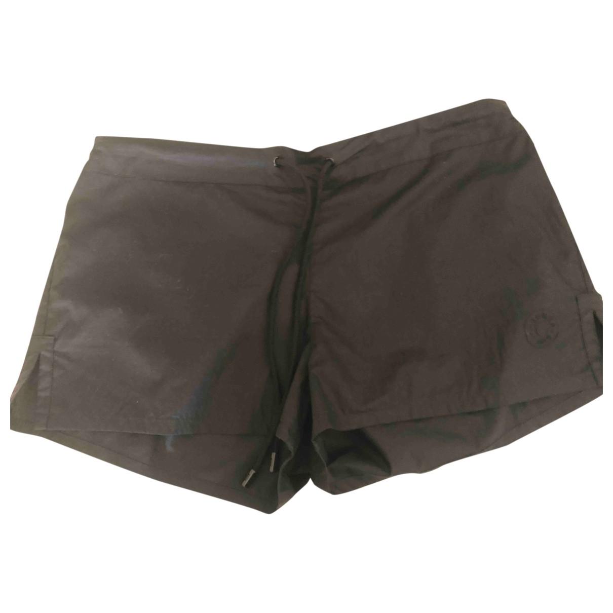 Hermes \N Shorts in  Schwarz Baumwolle