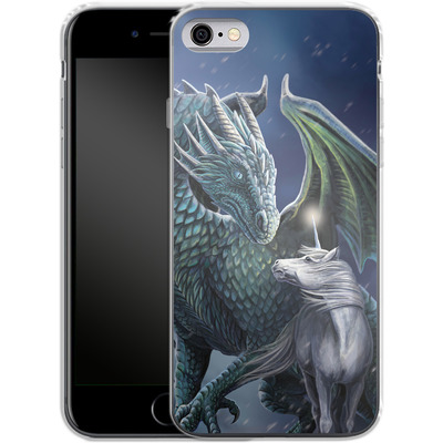 Apple iPhone 6s Silikon Handyhuelle - Protector of Magic von Lisa Parker
