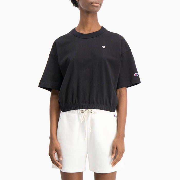 Champion Crewneck Cropped T-Shirt 112727 KK001