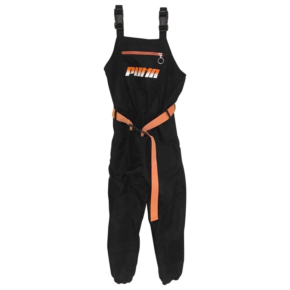 Puma \N Jumpsuit in  Schwarz Polyester