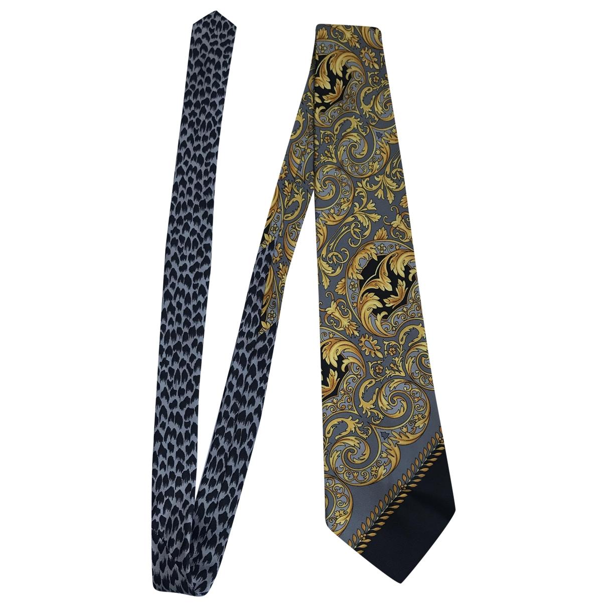 Gianni Versace \N Gold Silk Ties for Men \N