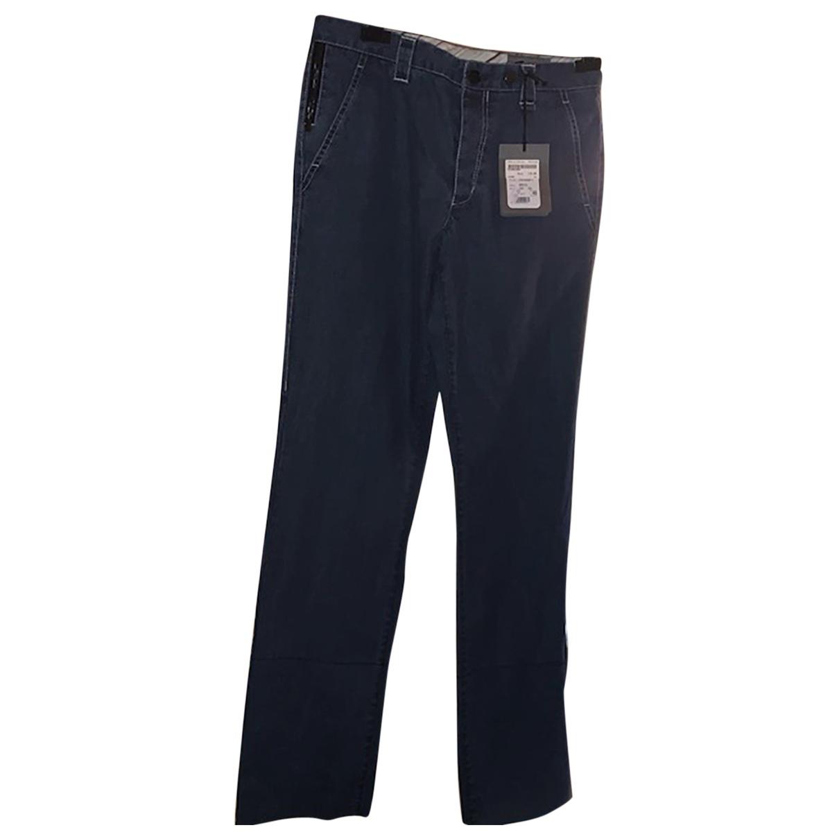 Allegri \N Blue Cotton Jeans for Men 33 US