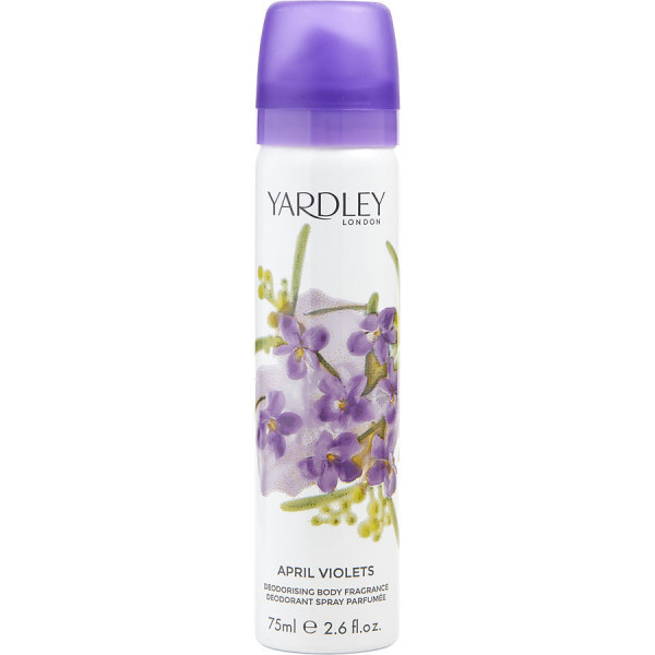 April Violets - Yardley London Korperspray 80 ml