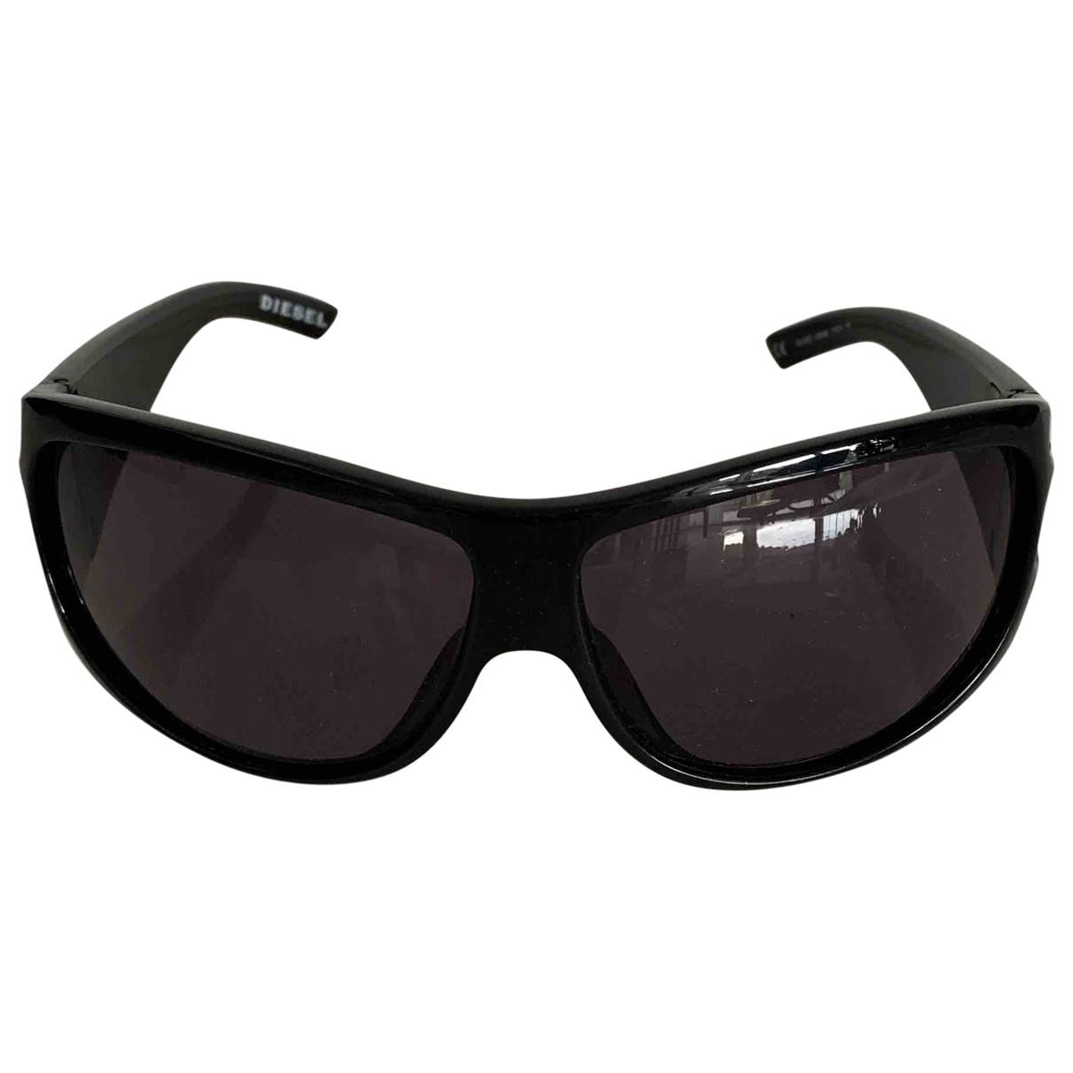Diesel \N Sonnenbrillen in  Schwarz Kunststoff
