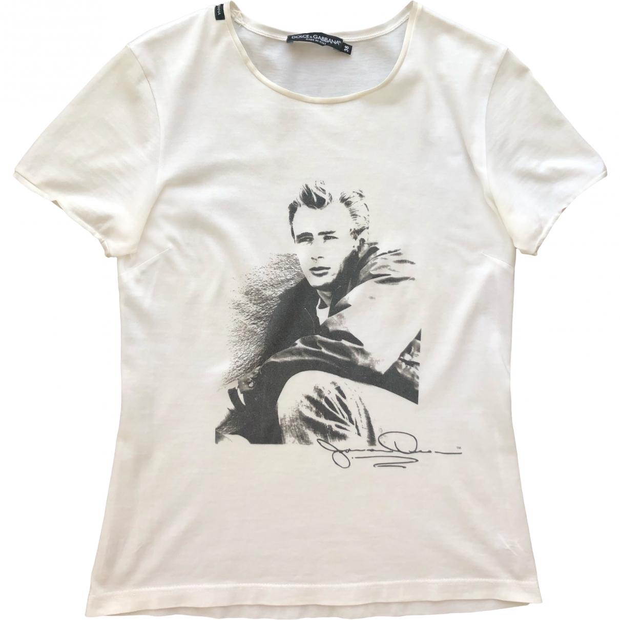 Dolce & Gabbana \N White Cotton  top for Women 38 IT