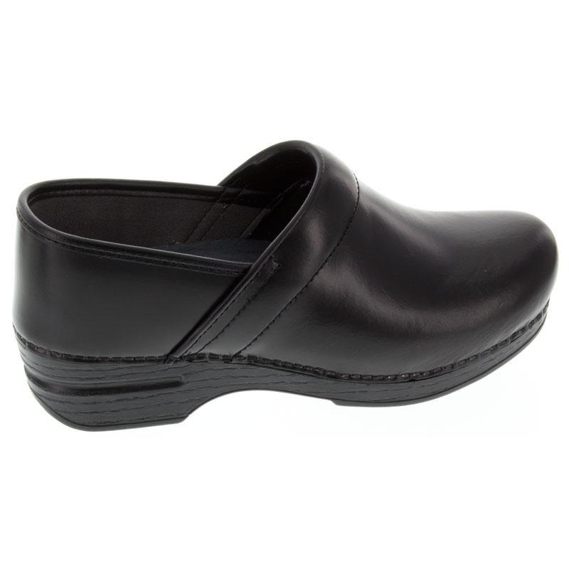 Dansko Pro Xp (Women's) Black Cabrio Leather Slip-Resistant 42 R