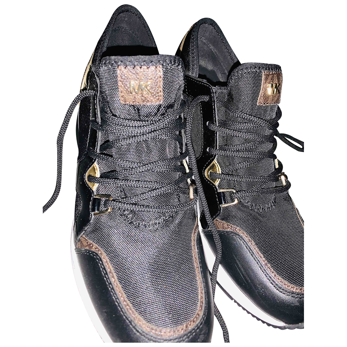 Michael Kors \N Sneakers in  Schwarz Kautschuk