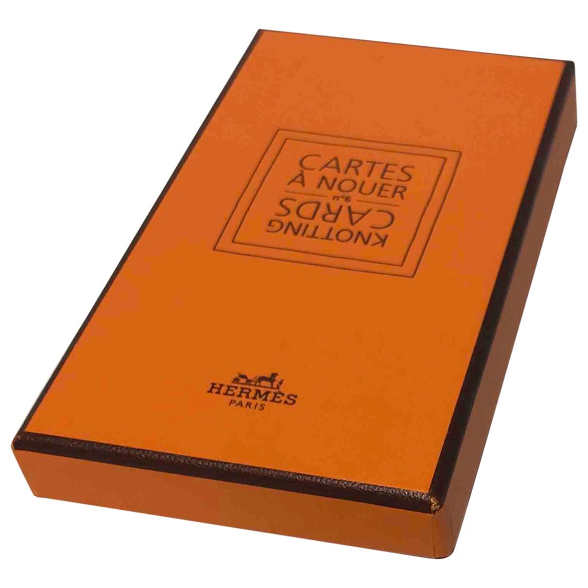 Hermes - Objets & Deco   pour lifestyle en bois - orange