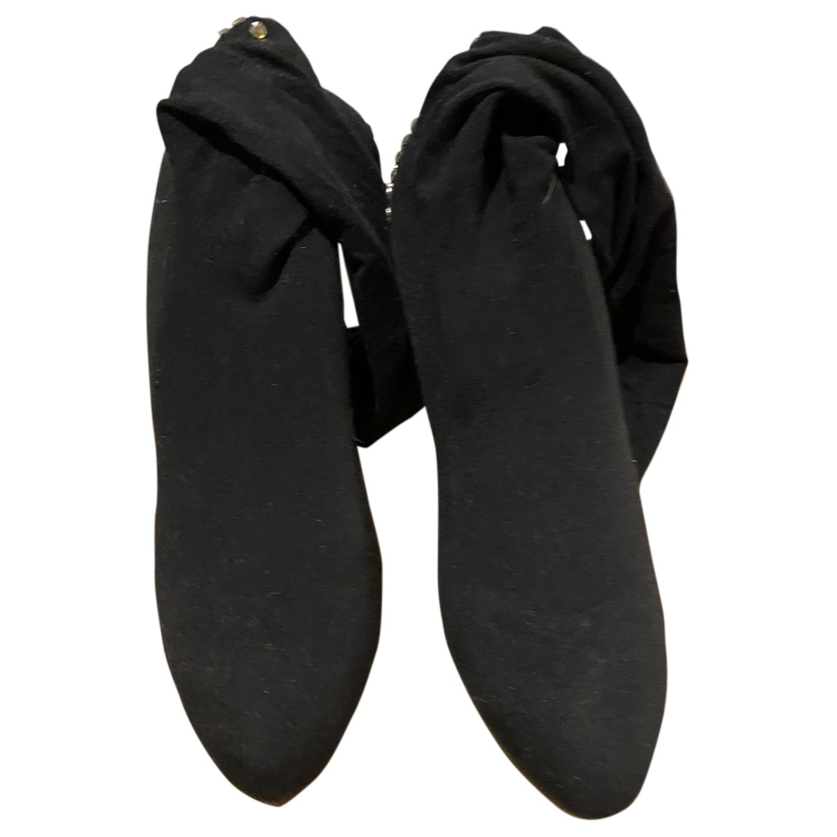 Rene Caovilla - Bottes   pour femme en toile - noir