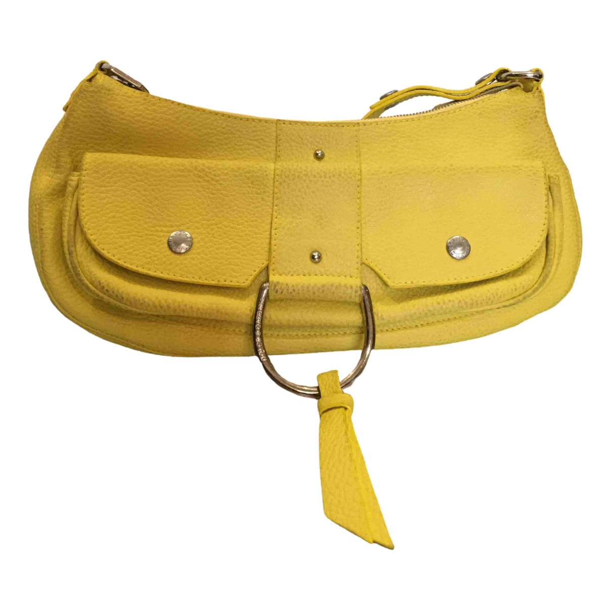 Dolce & Gabbana \N Yellow Leather Clutch bag for Women \N