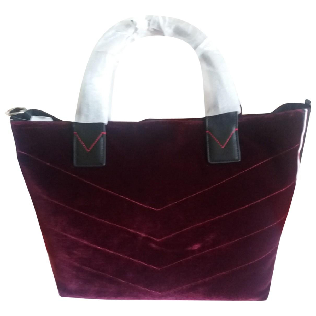 Pinko N Burgundy Velvet handbag for Women N
