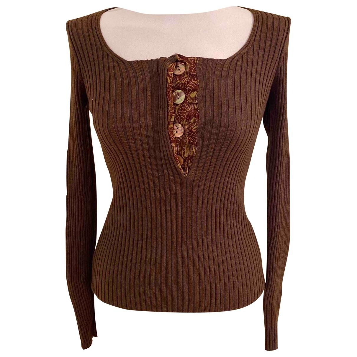 Jean Paul Gaultier \N Brown Wool Knitwear for Women M International