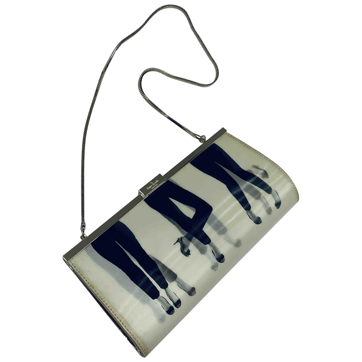 Bolsos clutch en Plastico Blanco Kate Spade