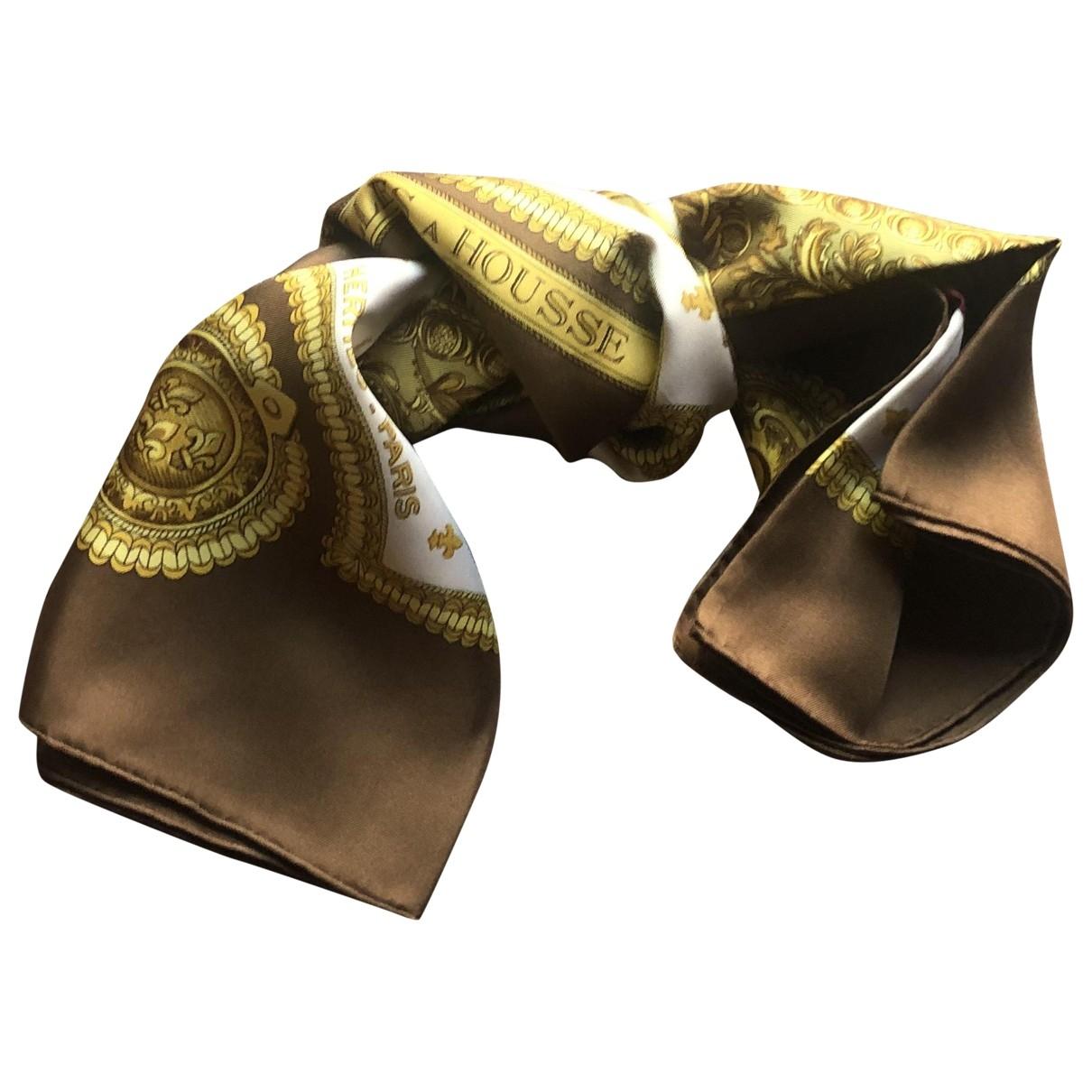 Hermès Carré 90 Brown Silk Silk handkerchief for Women \N