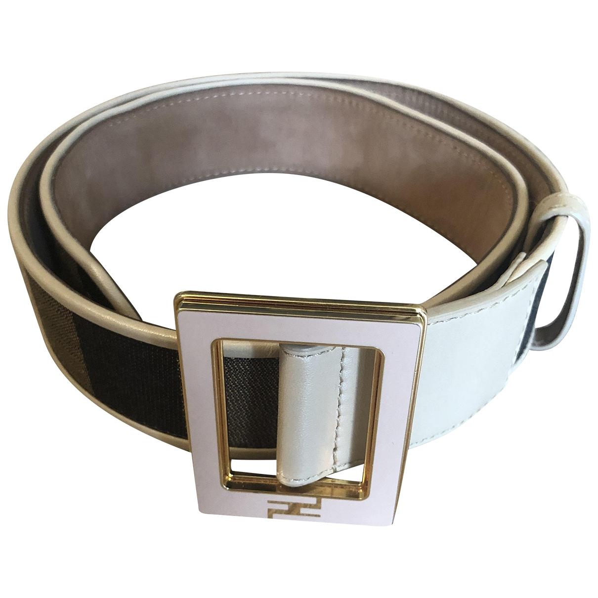 Fendi \N Pink Cloth belt for Women 75 cm