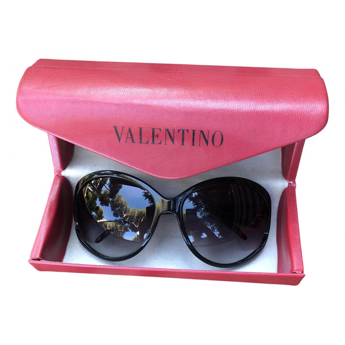 Valentino Garavani \N Black Sunglasses for Women \N