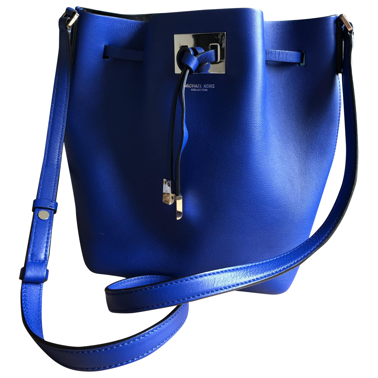 Michael Kors - Sac a main Miranda (Collection) pour femme en cuir - bleu