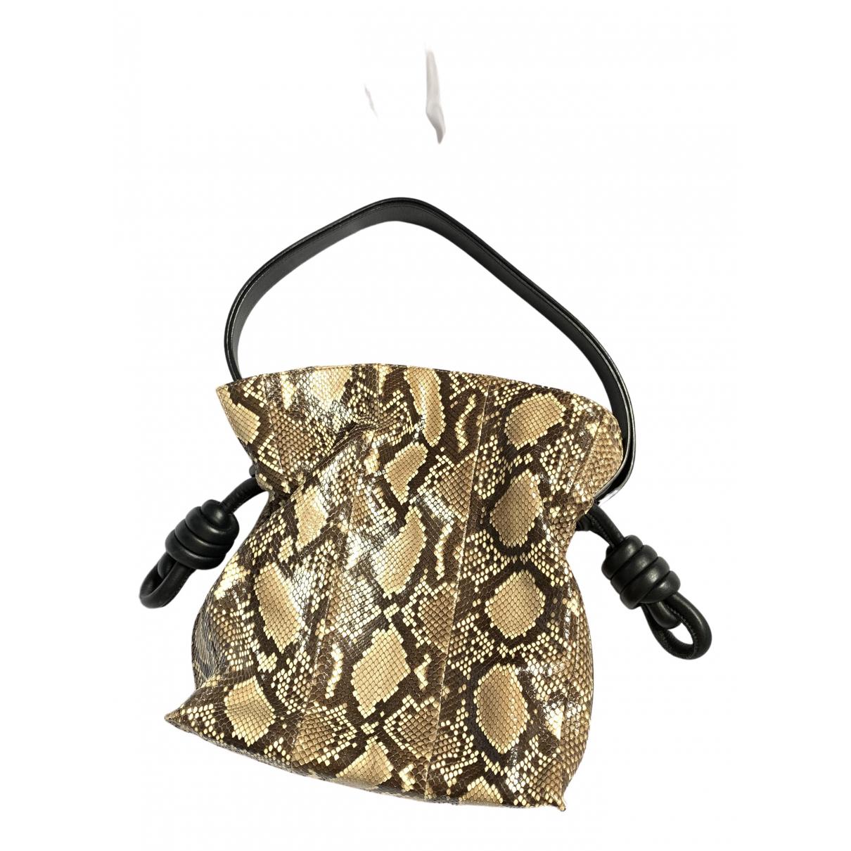 Loewe Flamenco Multicolour Python handbag for Women \N