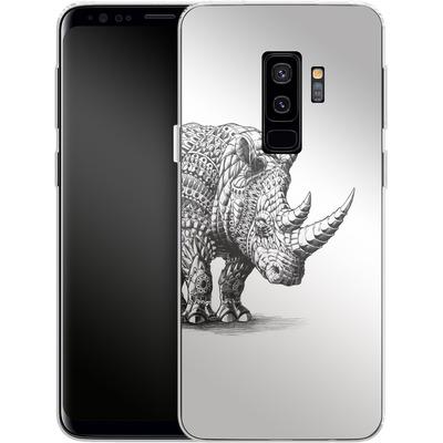 Samsung Galaxy S9 Plus Silikon Handyhuelle - Rhinoceros von BIOWORKZ