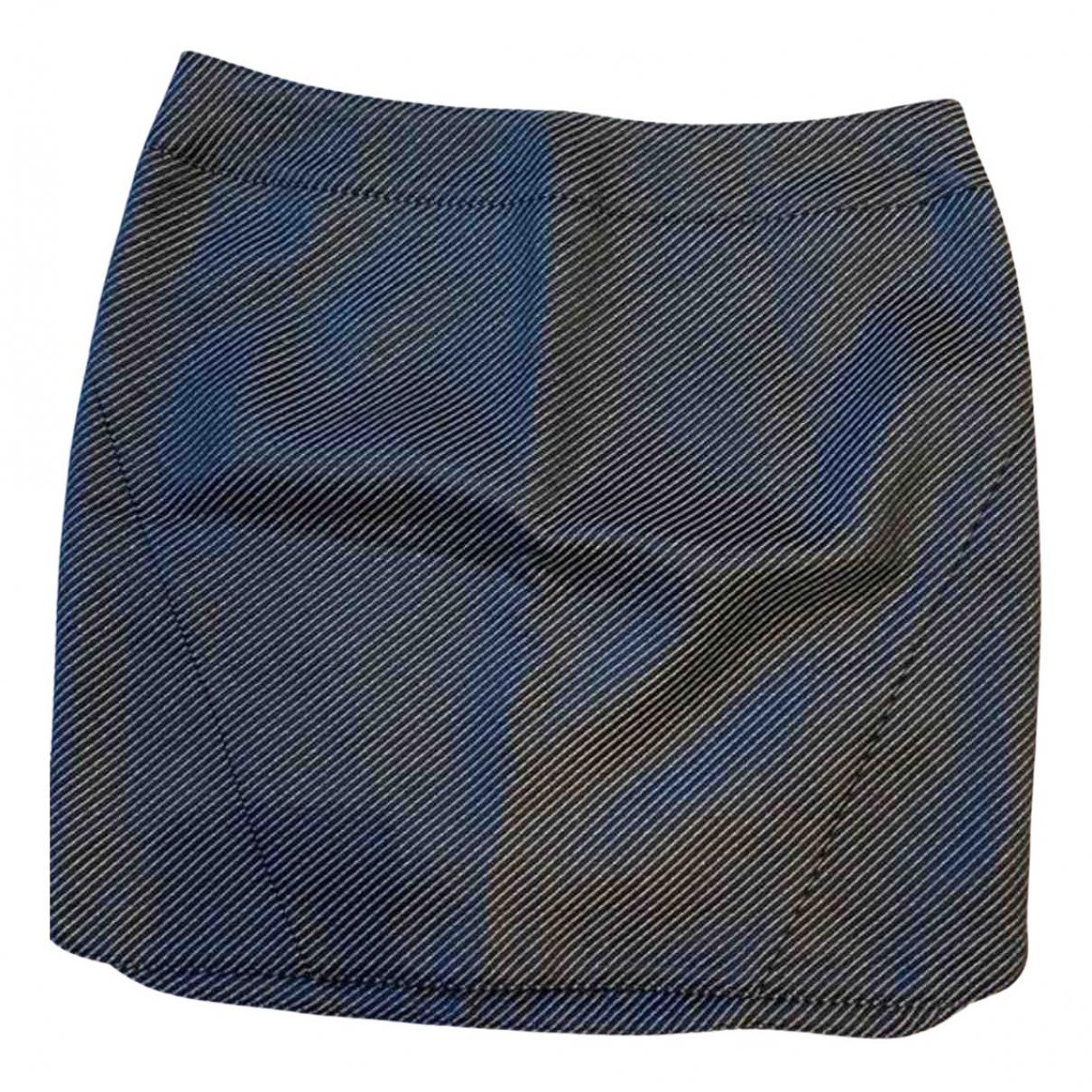 Zadig & Voltaire \N Black Cotton skirt for Women 36 FR