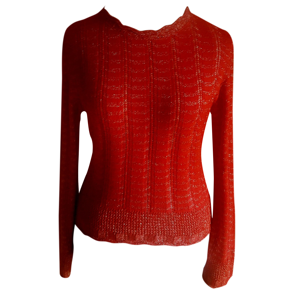 Christian Lacroix N Red Cotton Knitwear for Women 42 FR