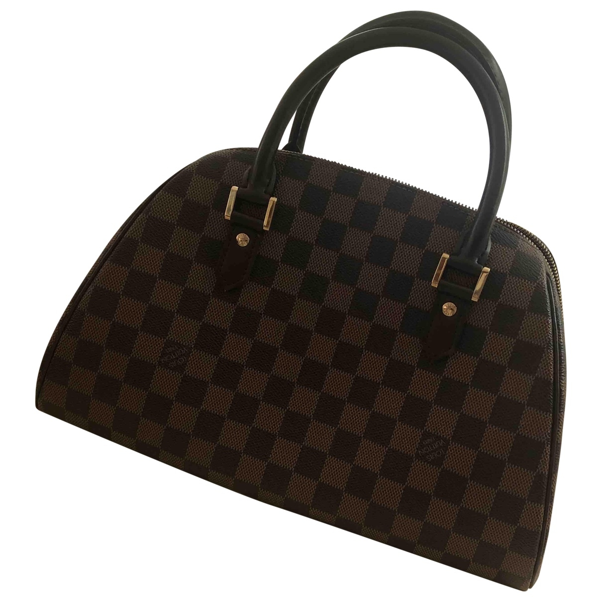 Louis Vuitton Ribera Brown Cloth handbag for Women \N