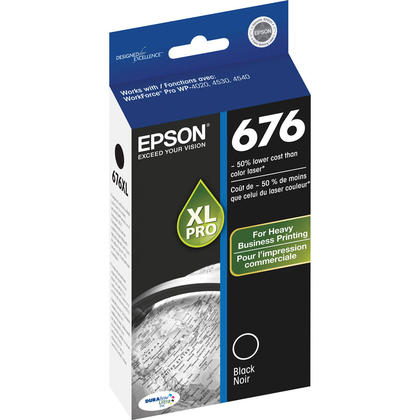 Epson T676XL120 cartouche d'encre originale noire