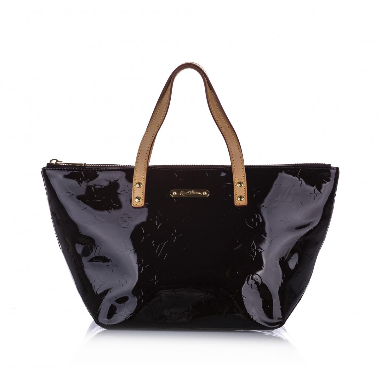 Louis Vuitton - Sac a main Bellevue pour femme en cuir - violet