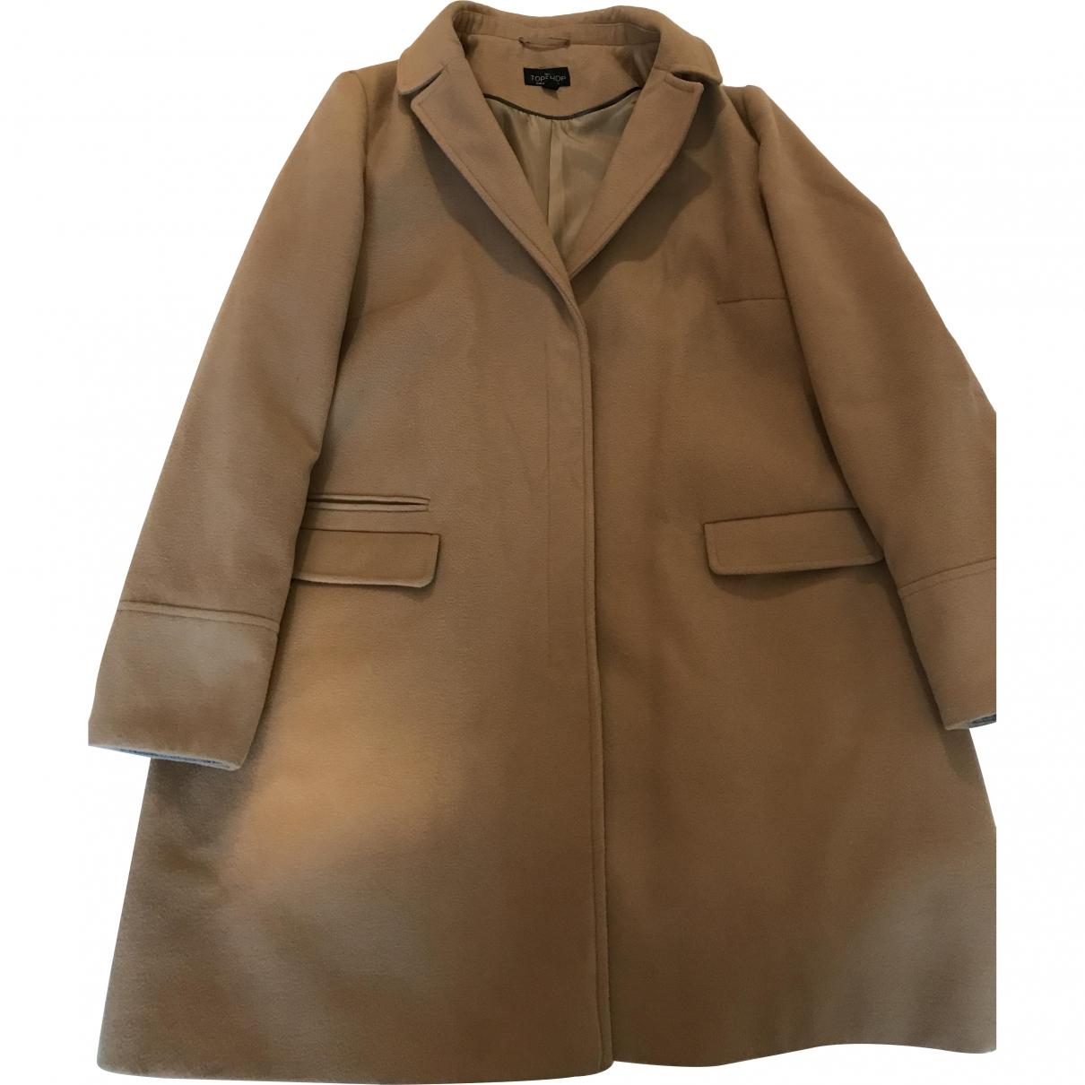 tophop \N Camel coat for Women 16 UK
